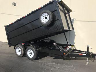 2019 Dump Trailer 8x12x4 for Sale in La Puente,  CA