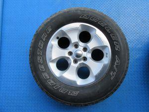 "18"" Jeep Wrangler SINGLE rim wheel tire #6260 for Sale in Miami, FL"