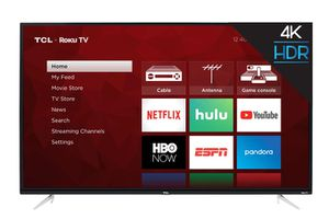 "TCL 43"" CLASS 4-SERIES 4K UHD HDR ROKU SMART TV for Sale in Rancho Cucamonga, CA"