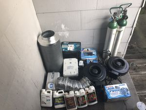 Grow equipment controllers fans pumps ect for Sale in Tacoma, WA