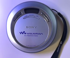 SONY D-EJ621 CD Walkman G-Protection Portable CD Player for Sale in Beech Grove, IN