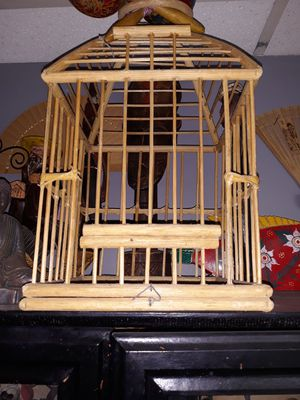 Bamboo bird cage for Sale in Mesa, AZ