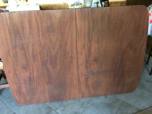 Antique double pedestal solid wood table for Sale in Vista, CA