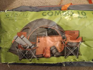 Camping tent with accessories for Sale in Norfolk, VA