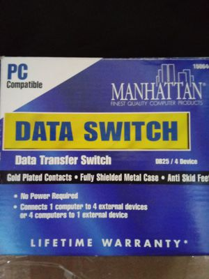 Manhattan data transfer switch new in box for Sale in Silver Springs, FL