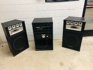 Technical Pro/Pro Studio Rack Sound System/Home Audio System/Theater System/DJ/P.A. (Black and chrome) for Sale in Lafayette, LA