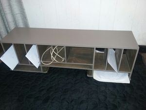 12 compartment organizer... all wood... measures 30 in wide 9 and 1/2 in tall and 7 and 1/2 in deep for Sale in Ontario, CA