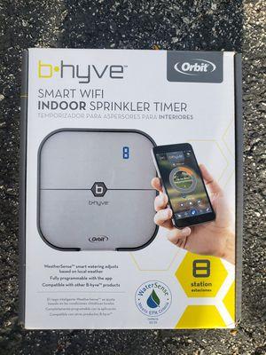 Orbit B.Hevy smart wifi Indoor sprinkler timer 8 station for Sale in Pompano Beach, FL