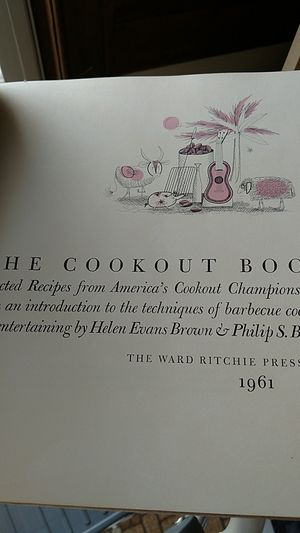 the cookout book 1961 for Sale in Appomattox, VA