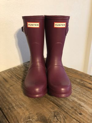 Hunter women's size 6 boots for Sale in Madera, CA