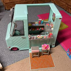 American Girl Doll Ice Cream Truck for Sale in Bellmore,  NY