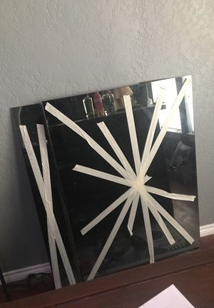 Glass mirror shelves for Sale in San Antonio, TX