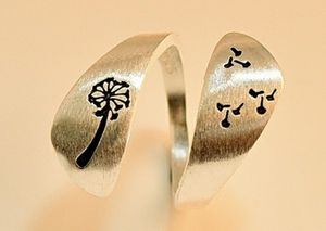 (Shipped Only) Adjustable Flower Ring for Sale in Wichita, KS