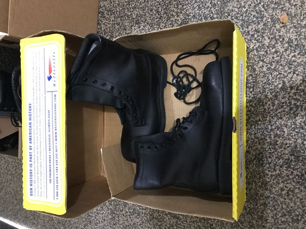 Steel toe Work/flight boots 10R new.