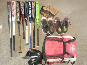 Baseball Bats and Equipment starting indiviual prices at $10 for Sale in Guadalupe, AZ