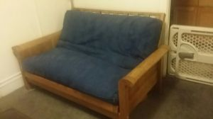 Wood Full-sized Futon for Sale in Portland, OR