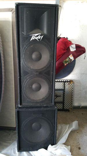 Peavy speakers for Sale in Nashville, TN