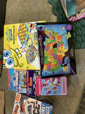 Kids Games and a Puzzle for Sale in Kent, WA