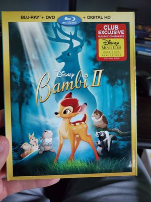 Disney's Bambi 2 on Blu-ray and DVD for Sale in Highlands, TX