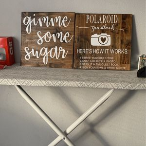 Treat Table & Polaroid Sign for Sale in Gibsonton, FL