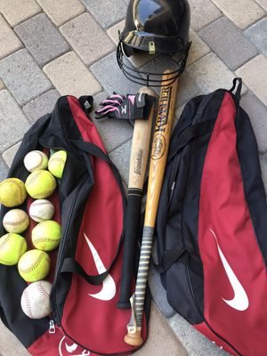 Softball/baseball items for Sale in San Juan Capistrano, CA