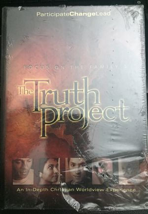 The Truth Project DVD set. Still in shrink wrap for Sale in Kennewick, WA