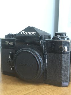 Canon F1 For Parts or Repair. for Sale in Seattle,  WA