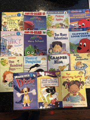 Beginning Reader Level 1 Book Lot for Sale in Renton, WA
