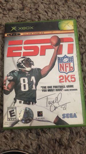 2 ESPN NFL 2K5 for Sale in Santa Clarita, CA
