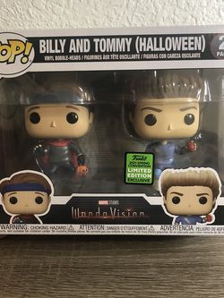 Billy and Tommy Wandavision Funko POP! Amazon Exclusive for Sale in Los Angeles,  CA