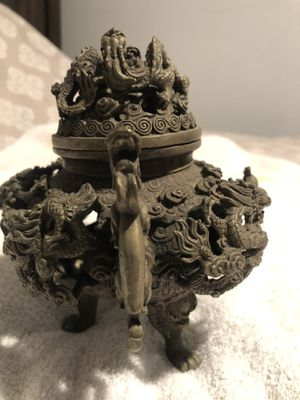 Chinese Antique Incense Burner for Sale in SeaTac, WA
