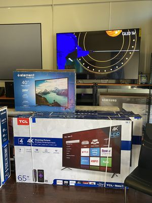 65 INCH TCL ROKU SMART 4K BRAND NEW HUGE SALE TVS for Sale in Alhambra, CA