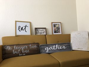 Bunch of Modern/Farmhouse Decor Items!! for Sale in Seattle, WA