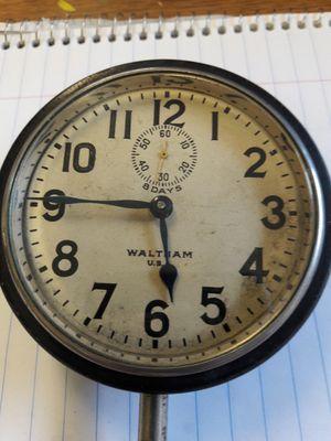 ANTIQUE WALTHAM 1912 8 DAY CAR CLOCK for Sale in Sacramento, CA