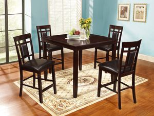 New! 5PC Espresso Counter Height Dining Set *FREE DELIVERY* for Sale in Columbia, MD