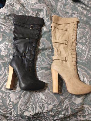 High heel platform boots Frederick's of Hollywood for Sale in Anaheim, CA