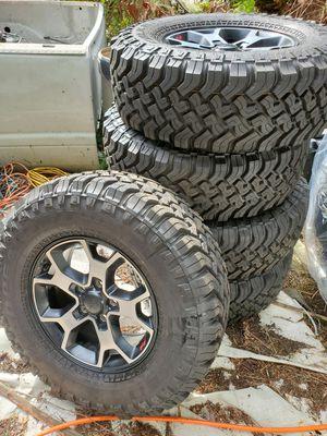 Jeep jl falken MT wheels & tires for Sale in Redmond, WA