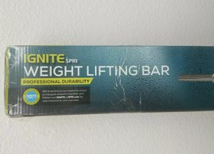 "Ignite By SPRI 5' Weight Lifting Bar Holds Standard Weight Plates 1"" (NEW) for Sale in Mechanicsburg, PA"