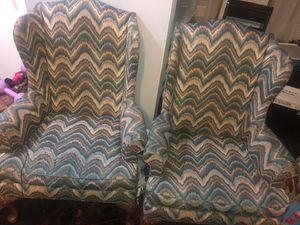 Two high back chairs for Sale in Parkville, MD