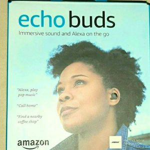 Echo Buds – Wireless earbuds with immersive sound, active noise reduction, and Alexa for Sale in Westland, MI