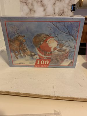 "1997 Hallmark Cards ""Up on the Housetop"" 100-Piece Puzzle NEW for Sale in Plant City, FL"