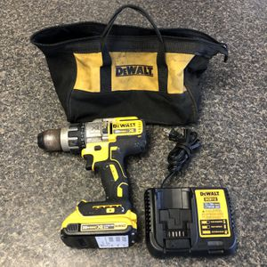 """Dewalt DCD996 ½"""" 20 Volt Cordless Hammer Drill With 1 - Battery, Charger & Case 89806-1 for Sale in Tampa, FL"""