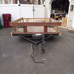 9'×6' UTILITY TRAILER for Sale in Lowell, MA