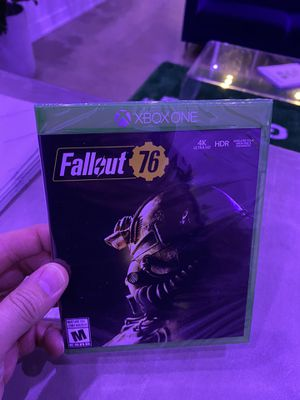 Fallout 76 Sealed Xbox one for Sale in Chicago, IL