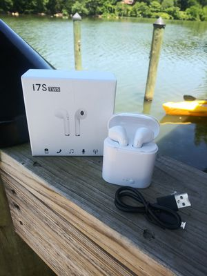 Wireless Earbuds Headphones White for Sale in Gaithersburg, MD