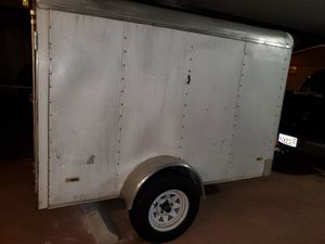 Enclosed Trailer (landscaping) 5x8 for Sale in Miami, FL