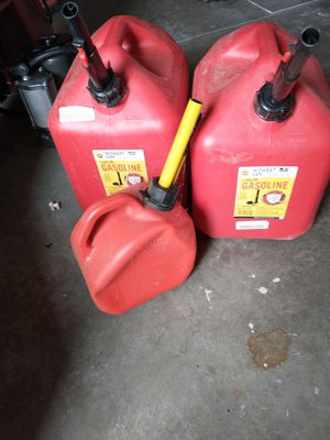Gas cans for Sale in Menifee, CA