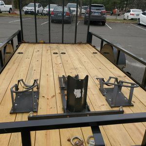 2020 Utility Trailer, Set Up For Motorcycle Transport for Sale in Hamden, CT
