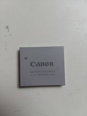 Canon NB-4L Digital Camera Li-ion Battery Pack Genuine OEM. for Sale in Adelphi, MD