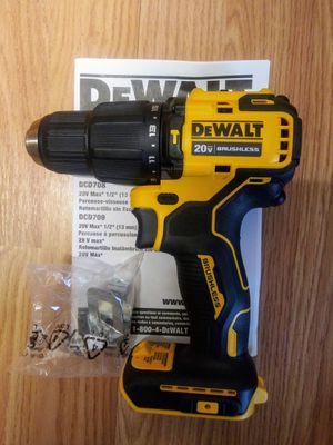 """""""New*DEWALT1/2-in 20V Max Variable Speed Brushless Cordless Atomic Hammer Drill (Tool Only) for Sale in Oklahoma City, OK"""
